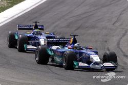 Nick Heidfeld et Felipe Massa