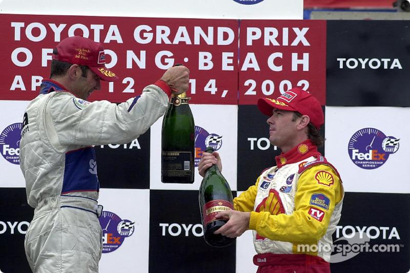 Le podium : Max Papis et Jimmy Vasser