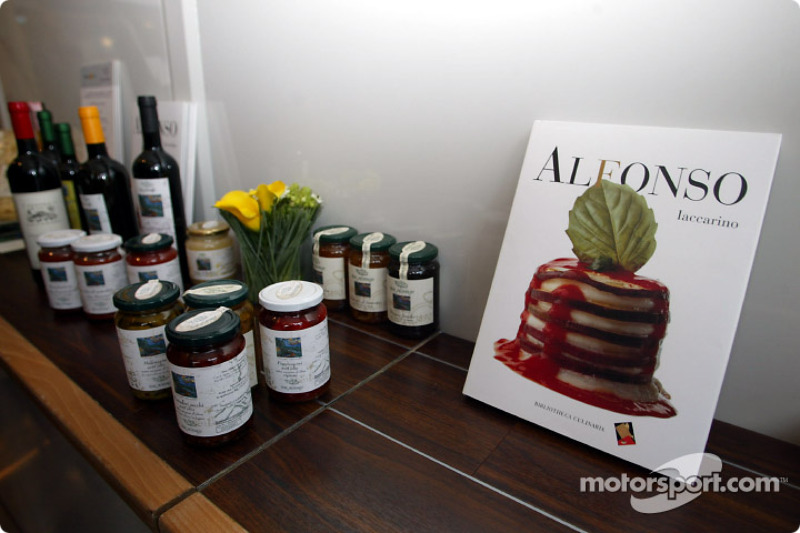 Michelin Chef Alfonso Laccarinos book