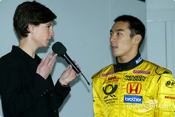 Team Jordan fan club event: Takuma Sato