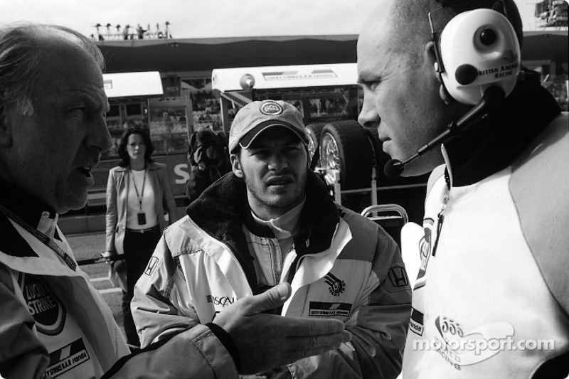 David Richards, Jacques Villeneuve y Jock Clear