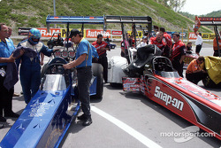 Top Fuel staging lane