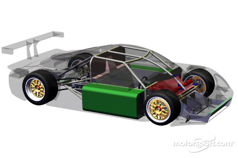 FABCAR Engineering released its latest Daytona Prototype ...