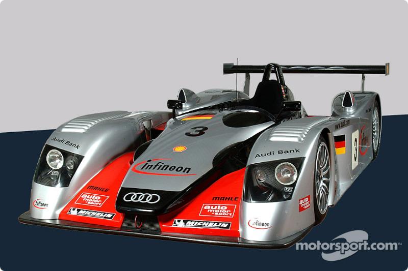 El Infineon Audi R8 de Krumm/Peter/Werner
