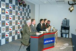 Gary Nelson, Brian Barnhart, Tony George, Dean Sicking, Kevin Forbes