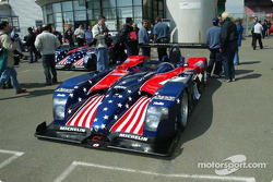 Official scruitineering: Team Panoz