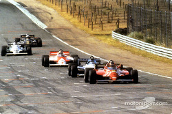 Gilles Villeneuve auf dem Weg zu seinem letzten Grand-Prix-Sieg
