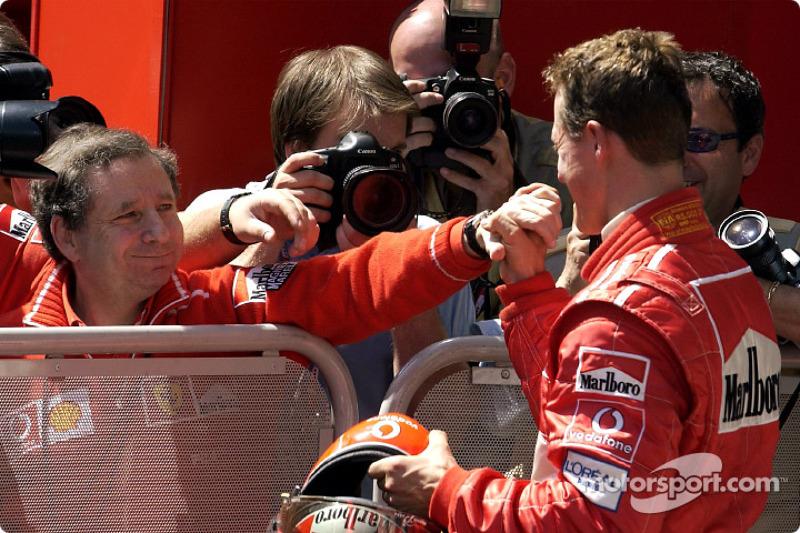 Jean Todt et Michael Schumacher