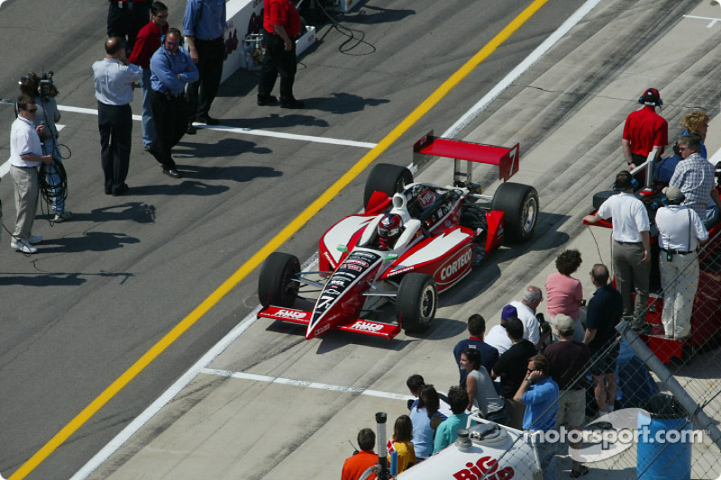 Pitstop competition: Al Unser Jr.