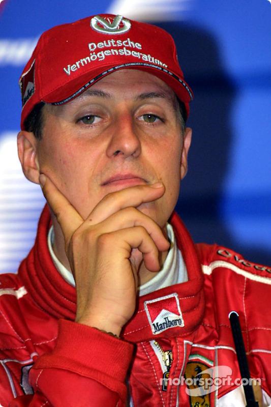 Winners' press conference: Michael Schumacher