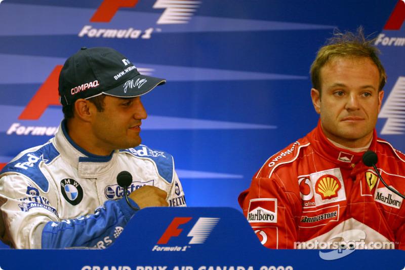 FIA Saturday press conference: Juan Pablo Montoya and Rubens Barrichello