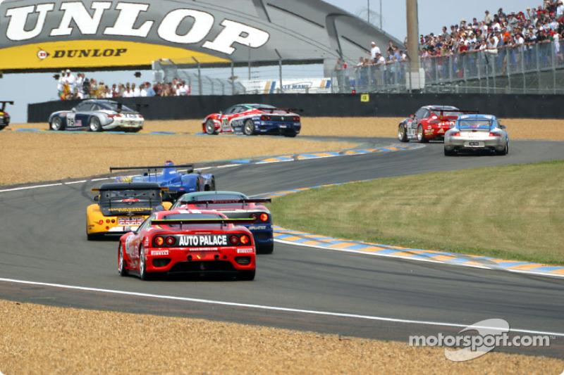 La primera curva: los autos de LM GT y GT