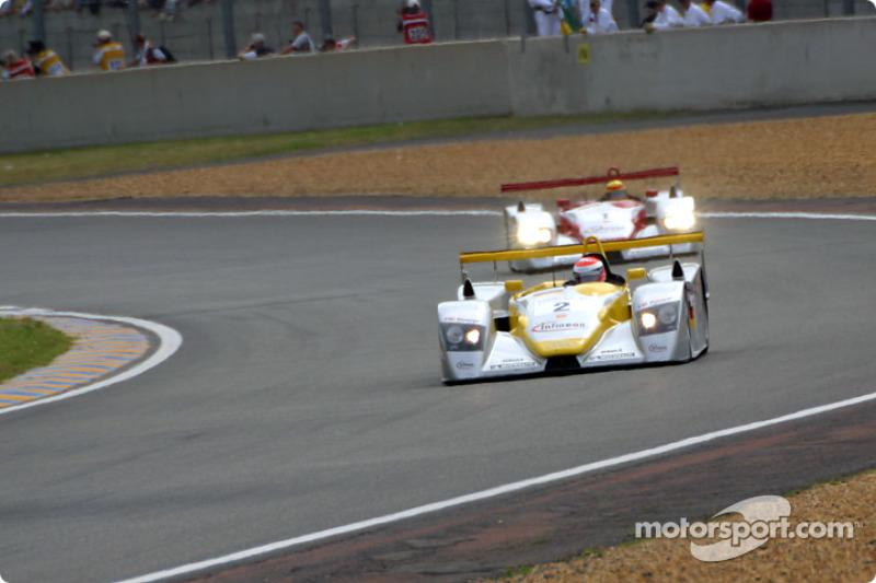 Primera vuelta: los Audi de Johnny Herbert y Frank Biela al frente