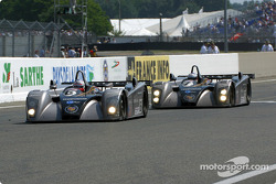 Last lap for the Team Cadillac Cadillac Northstar LMP-02