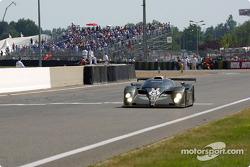Last lap for the Team Bentley Bentley EXP Speed 8