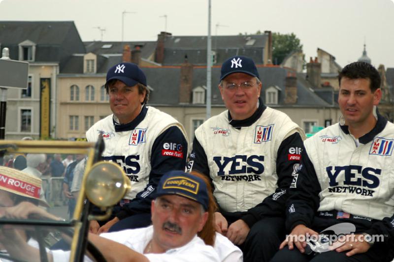Leo Hindery, Tony Kester y Peter Baron