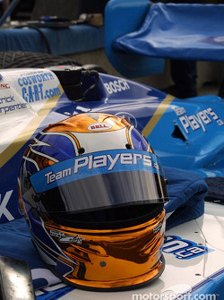 Le casque de Patrick Carpentier
