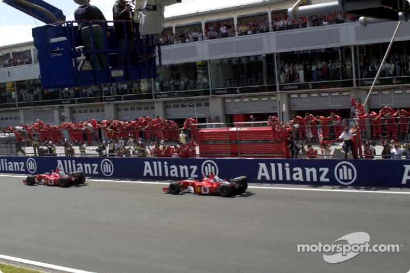 2002. Нюрбургрінг. Переможець: Рубенс Баррікелло, Ferrari