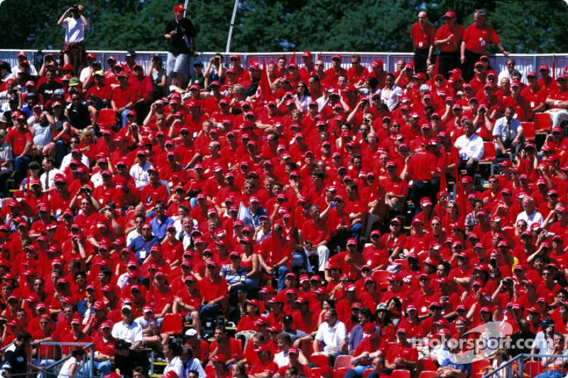 Fans en Nürburgring