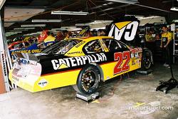 Ward Burton's car