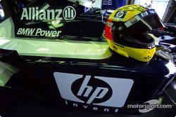 Ralf Schumacher's helmet