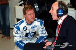 Ralf Schumacher and Frank Williams