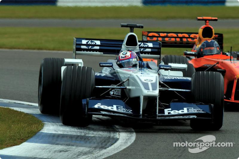 Juan Pablo Montoya y Heinz-Harald Frentzen