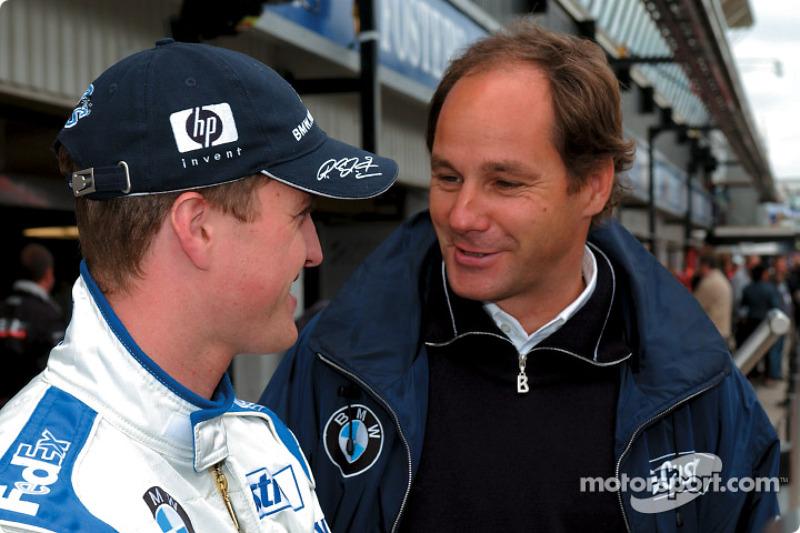 Ralf Schumacher and Gerhard Berger