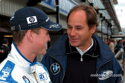 Ralf Schumacher y Gerhard Berger