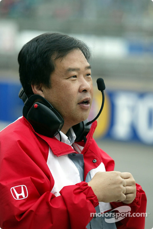 Ingeniero de carrera de Honda