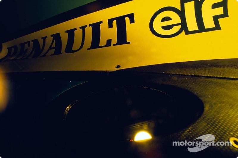 Renault F1 exhausto