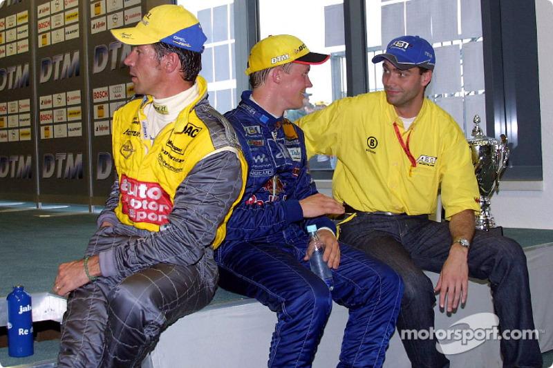 A tough race Manuel Reuter and Mattias Ekström