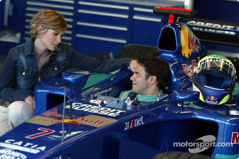 Felipe Massa in charming company
