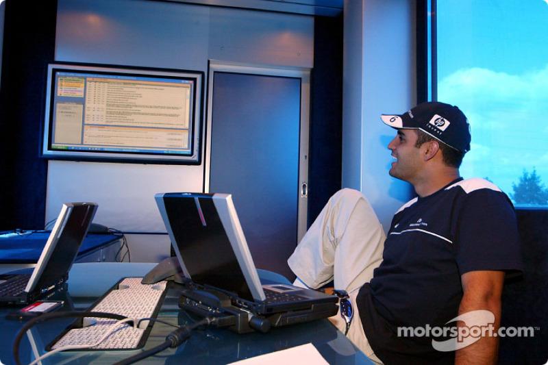 Team Williams-BMW Web chat with fans: Juan Pablo Montoya