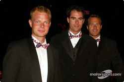 Stars and Stripes party in Washington: Jan Magnussen, David Brabham and Bill Auberlen