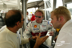 Emanuele Pirro and Tom Kristensen