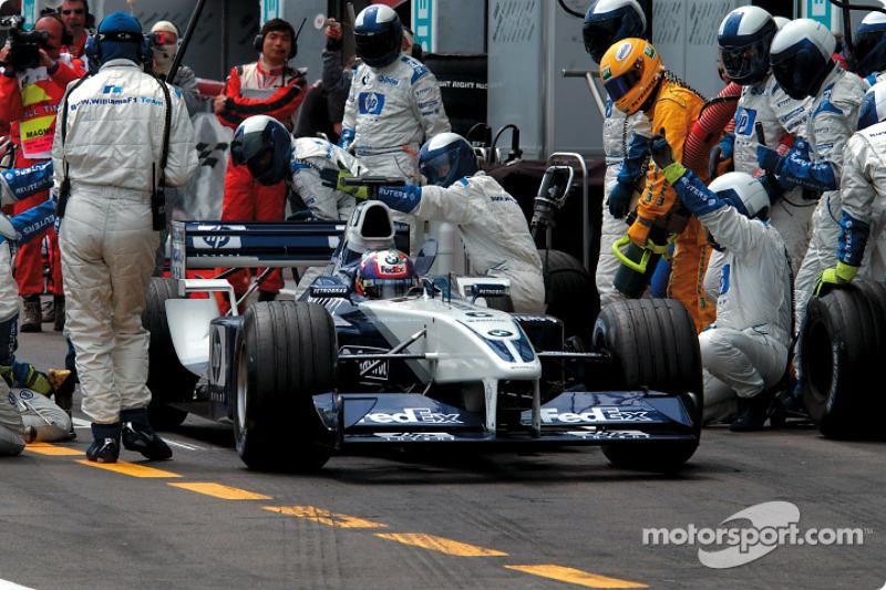 Піт-стоп для Хуана-Пабло Монтойї, Williams BMW