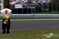 Jacques Villeneuve out of the race