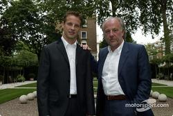 Jenson Button ve David Richards