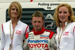 Allan McNish in charming company
