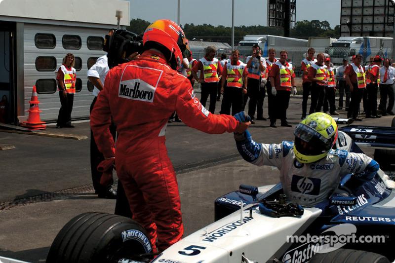 Michael y Ralf Schumacher