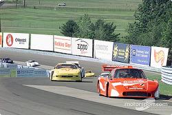 Porsche leads