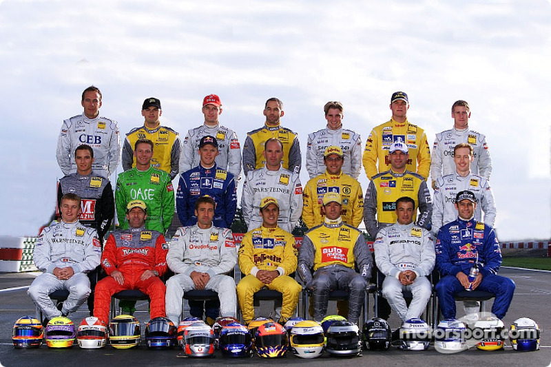 Class of 2002: all the DTM drivers
