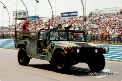 Hummer driver parade