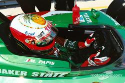 Max Papis in cockpit