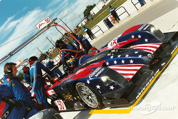 Panoz pit stop