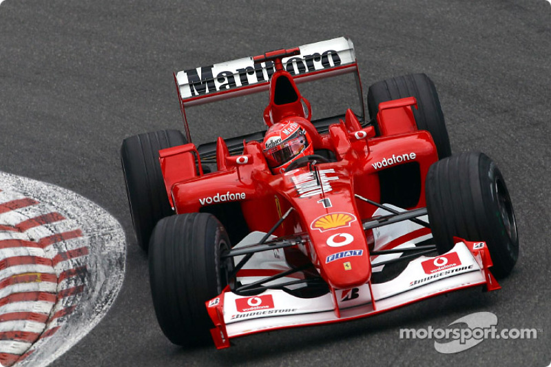 #19: Ferrari F2001 (2001-2002)