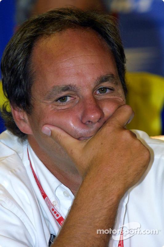Conferencia de prensa: Gerhard Berger