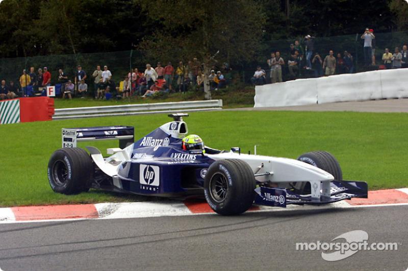17: Ralf Schumacher: 118 grandes premios (el 65,56% de los disputados)