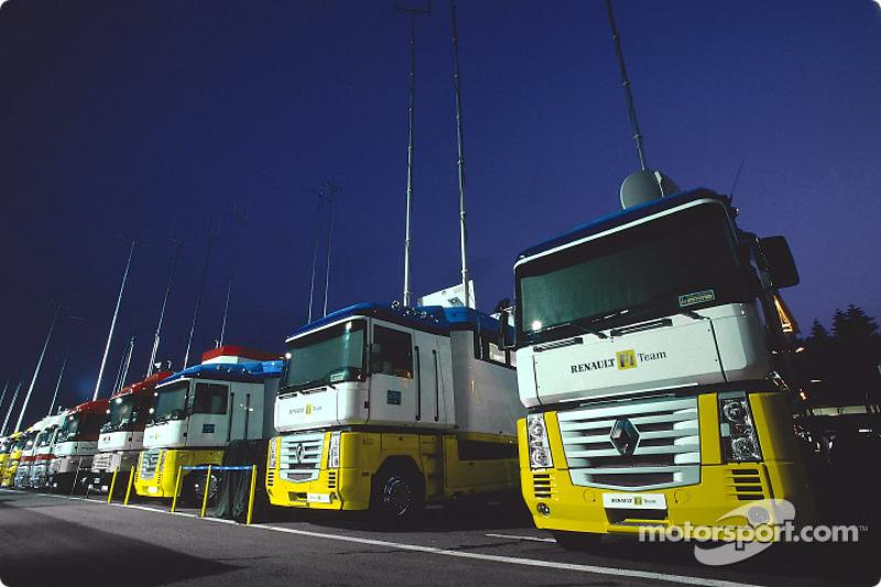 Team transporters